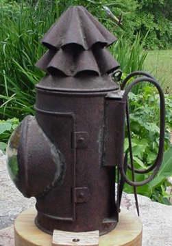 The Hunley Signal Lantern